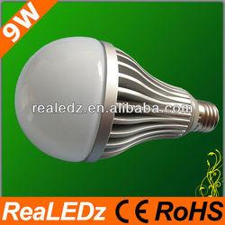 CE RoHS 9W E27 SMD 5630 LED Bulb as Ushine Light Science And Technology Shanghai