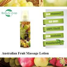 Australian fresh fruit best massage lotion