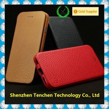 new product genuine cow leather phone case for iphone 6, for iphone 6 case leather