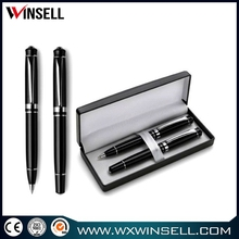 Top selling lowest price heavy metal twist leather ball pen
