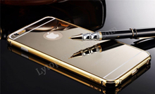 2015 Luxury New Metal Mirror Back Cover For iphone 6 Aluminum, Shining Mirror Back for iPhone 6 4.7