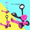 3 wheels kids scooter/aluminium kick scooter/custom kick scooters