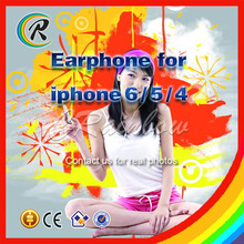 Alibaba earphone for iphone 6 headset guangdong with MIC
