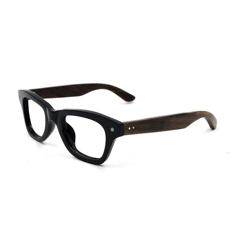 new model eyewear large frame wood reading glasses