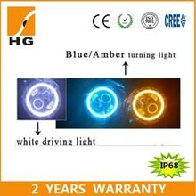 """7"""" halo headlight 7inch led halo headlight colors halo for headlight HG-839A"""