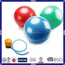 PVC high quality promotional anti burst custom color yoga ball