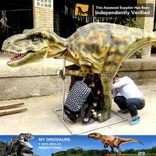 MY Dino-V13 Silicon rubber sexy dinosaur costume