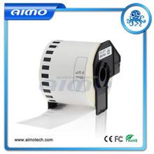 Wholesale Factory Price 62mm x 30.48m Continuous Length DK Label DK22205 Compatible Brother DK Tape