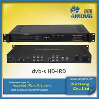 DVB-S2 HD IRD internet tv receiver technosat digital satellite receiver