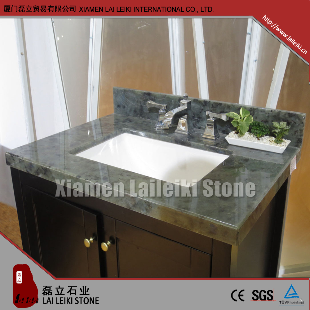 Wholesale Cheap White Marble Molded Sink Countertop