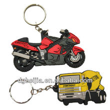 Promotional motorcycle PVC keychains for bikes (BJO-K0012)
