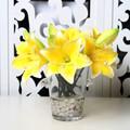 tornando artificial flor de lírio da água decoração flores arranjos