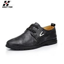 XS14 Hautton 2015 new products soft flat rough men leather shoes