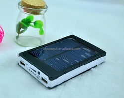 The function of avoid damage rechargeable power bank super fast ultra slim solar power bank 5000