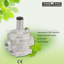 Gas reductor de presión para Gas reducción estación