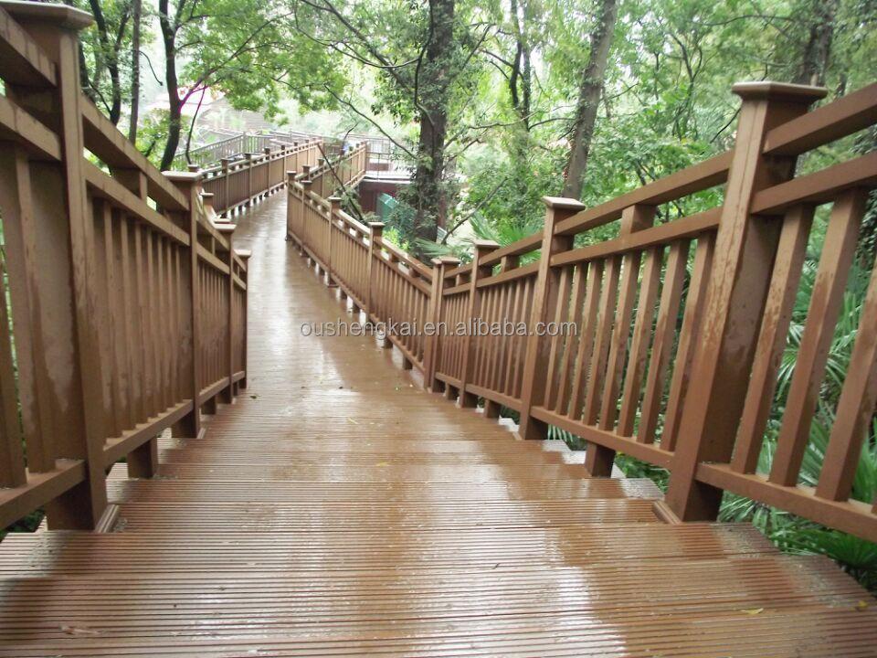 European style beatiful wpc railing made in china