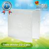 7mm white blank cd case bulk buy from china