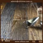Multilayer projetado parquet mão raspados elm piso