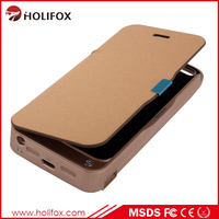 Low Low Price!!! External Battery Backup Rechargeable Charger Case Po Battery Case For Iphone 5 Mah With Flip Cover