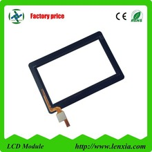 2015 new hot selling 4.3 inch capacitive touch screen with surface hardness 6H