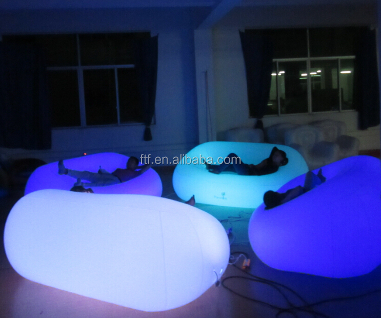 Inflatable Pvc Led Sofa Inflatable Furniture For Family