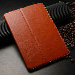 2015 Wholesale Great Quality industry leather case for ipad mini, cover for mini ipad