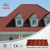 2015 hot sale colorful stone coated steel roof tile for decorative metal roof tile in Ecuador