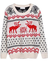Chinese Clothing Plain Knitted merino wool sweater