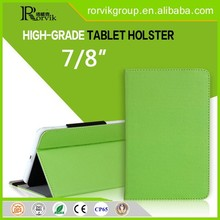 2015 high quality leather tablet case for kids 7 inch tablet pc