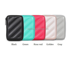 2.5 inch Organizer Shockproof Waterproof Bag for Mobile Hard Disk Drive Cable