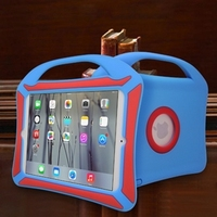 Hot Sale anti-shock waterproof silicone case for ipad mini
