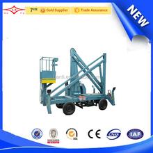 china low price walking and collapsible lift platform