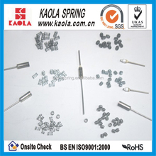 small compression metal springs/ wire clips