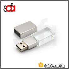 Metal Crystal model USB 2.0 Memory Stick Flash Drive 4GB 8GB 16GB 32GB