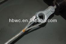 70-120KN alta fuerza de tensión clamp / preforemed tensión abrazadera para adss, Opgw