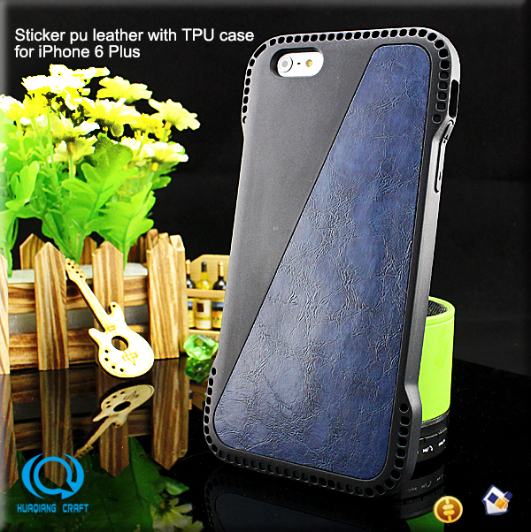 Hot Selling Detachable New Arrival Leather Case For iPhone6 Plus