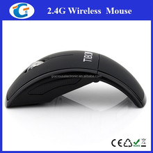Promotional Giveaways 2.4Ghz Computer Optical USB Foldable Cordless Mouse