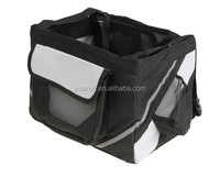Dog carrier bike/bicycle pet carrier basket for small dog cat puppy travel case