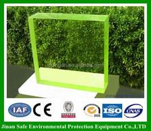 1000*1600*18mm x-ray shielding lead glass