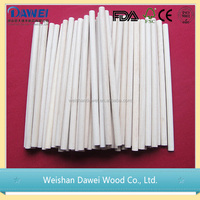 round wooden Ice cream sticks in plain edge with good quality