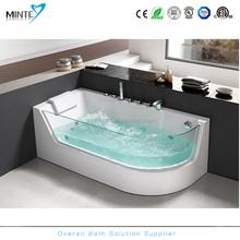 rectangular clear acrylic bathtub, hydromassage spa whirlpool bathtubs