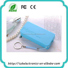 The sale of various color key chain external laptop battery charger