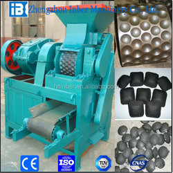 BBQ coal powder ball/briquette press machine with ISO