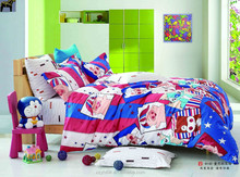 Latest Fashion 100% Cotton Reactive Cat Printed Sheets