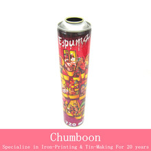 high pressure aerosol can for fire extinguisher with various height