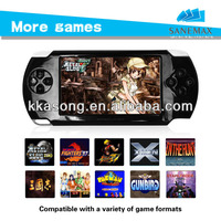 Most fashionable portable mp4 mp5 game player with replaceble battery