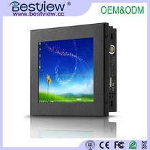 x86 fanless pc 8 inch In-Vehicle Computer with touch screen