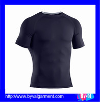 China factory clothes men's 100%polyester sport t-shirts wholesale quick dry t-shirts breathable t-shirts for men OEM