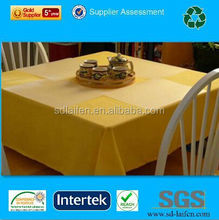 colorful disposable nonwoven restaurant tablecloth