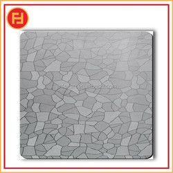 checkered embossed stainless steel plate